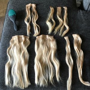 Kylie Jenner Hair Extension's Blonde